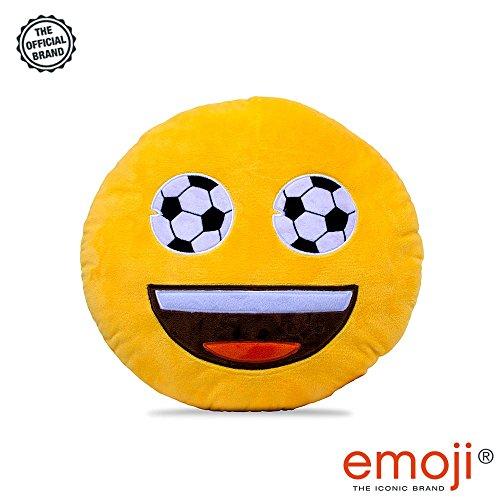 Love Bomb Cushions Fussball Augen Emoji Marke Kissen Super Weich Super Kuschelig Kissen Dies Ist Eine Grosse Emoji Oder Emoticon Kissen Aus