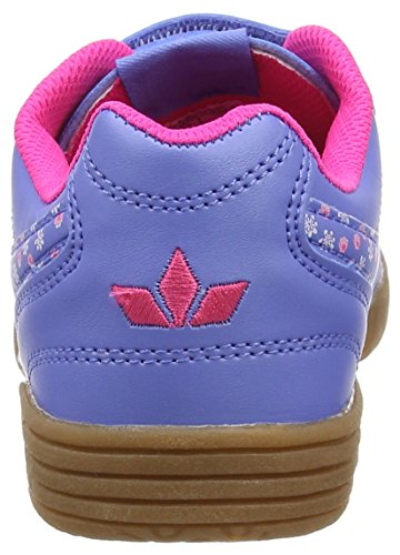 Lico Bernie V, Chaussures de Fitness fille Blau (Lila/Pink)
