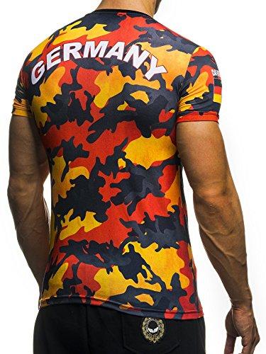 David&Gerenzo Fussball EM 2016 Camoflage 6 Länder 1-10390 Deutschland