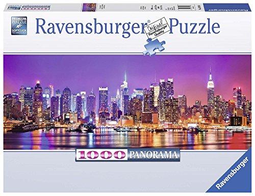 Ravensburger Italy- Puzzle Panorama Luci di Manhattan, 1000 Pezzi, 15078