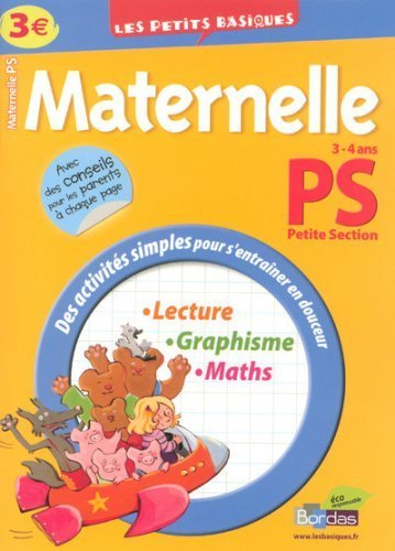 LES PETITS BASIQUES PS - (Ancienne édition) de Spampinato, Eliane (2008) Broché