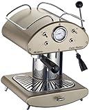 DeLonghi Ariete 1385/13 Retrò - Máquina espresso (950 W, funciona con café y con monodosis), color dorado