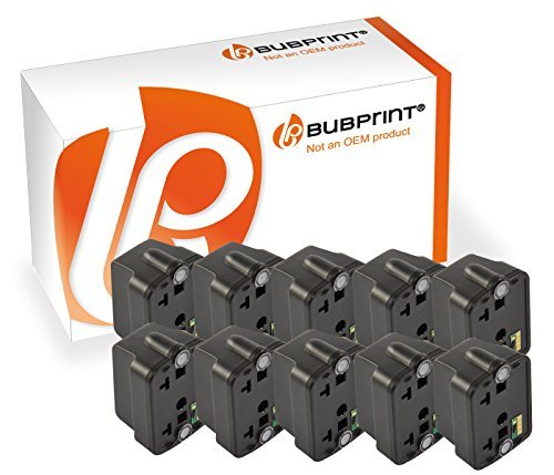 Bubprint 10 Druckerpatronen kompatibel für HP 363 HP363 für Photosmart 3110 3210 3310 8250 C5150 C5180 C6180 C6280 C7180 C7280 C8180 D6160 Schwarz (Hp 6180 Drucker)