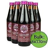 Biona Organic Super Juice - Elderberry 100% Pure 6x330ml