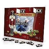 printplanet® Foto Adventskalender mit eigenem Bild personalisiert - mit Sarotti Schokolade gefüllt - Größe 35,5 x 24,5 cm - Rahmen 5