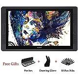 HUION KAMVAS GT-221 Pro HD IPS 8192 Druckstufen Stift-Display 21.5 Zoll Professioneller Grafikzeichentablett-Monitor mit 10 ExpressKeys 1 Touch-Leiste (GT-221 Pro)