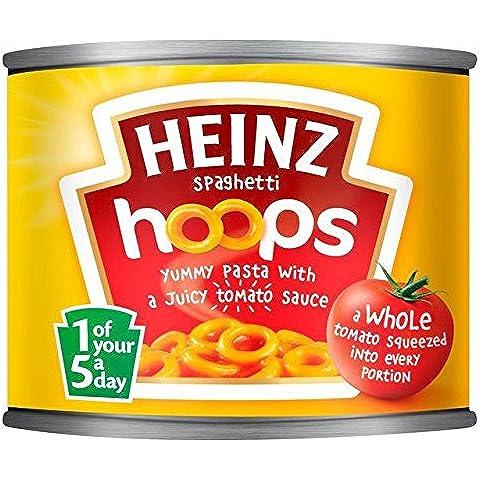 Heinz Cerchi Di Spaghetti In Salsa Di Pomodoro 205g (Confezione da 6)