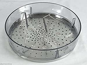 CESTELLO COTTURA A VAPORE COOKING CHEF KENWOOD KW714715 STEAMER BASKET ASSEMBLY