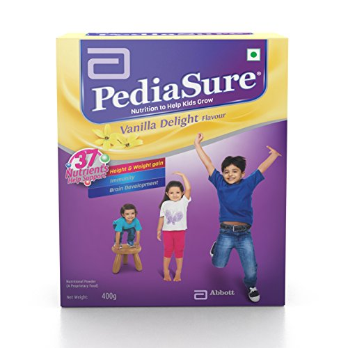 pediasure Vanilla Delight - 400 g (Refill pack)  available at amazon for Rs.487