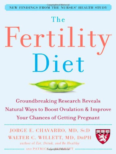 The Fertility Diet: Groundbreaking Research Reveals Natural Ways to Boost Ovulation and Improve Your Chances of Getting: Groundbreaking Research ... and Improve Your Chances of Getting Pregnant por Jorge Chavarro