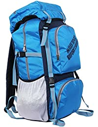 "POLE STAR "" ROCKY "" 60 Lt Blue Rucksack I Hiking backpack"