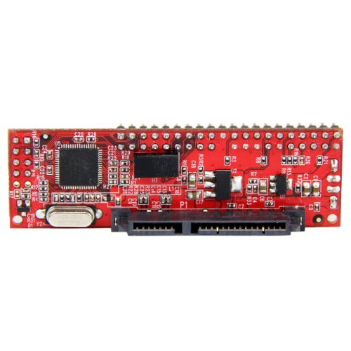 StarTech.com 40 Pin IDE PATA auf SATA Adapter (für HDD / SSD / ODD, IDE zu 2,5Zoll SATA / Optisches Laufwerk Konverter) - Pata Ata-100