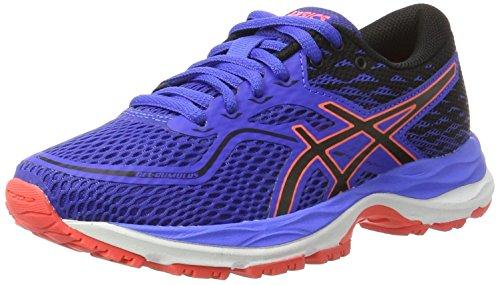 Asics C742N4890, Zapatillas de Running Unisex Niños, Morado (Blue Purple/Black/Flash Coral), 32.5 EU