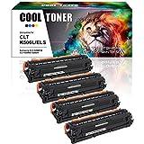 Cool Toner 4 Pack Kompatibel für Samsung CLT-C506L CLT-K506L CLT-Y506L CLT-M506L für Samsung CLX 6260FR 6260ND 6260FD CLX-6260FR CLX-6260FD CLX-6260FW Toner Samsung CLP680 CLP-680ND Toner CLP-680DW