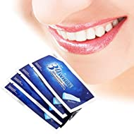HuntGold Teeth Whitening Strips Teeth Bleaching 3D White Whitestrips Advanced Professional Effects Oral Care White Teeth Sticky 14 Strips