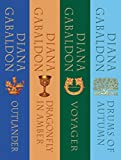 The Outlander Series Bundle: Books 1, 2, 3, and 4: Outlander, Dragonfly in Amber, Voyager, Drums of Autumn (English Edition)
