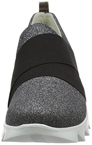 Stonefly Damen Speedy Lady 6 Sneakers Schwarz (NERO 000)