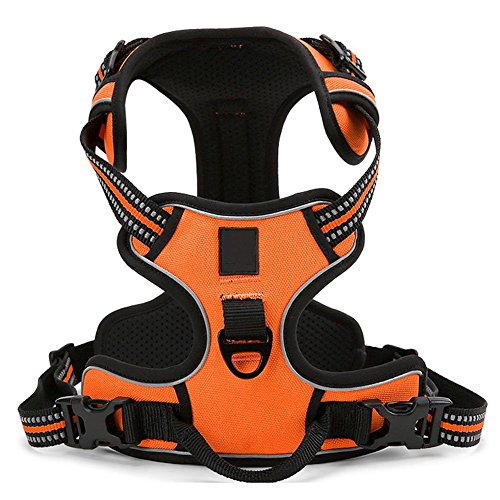 REXSONN® Ultra-Soft Hundegeschirr Softgeschirr Brustgeschirr Hunde Geschirr Sicherheitsgeschirr pet dog vest Harness