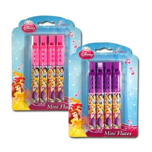 Disney Princess 4pk Mini Flute - Pink by Princess -