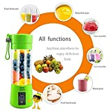 PETRICE Mini Personal Charge Pattern Juicer Smoothie Blender Fruit Vegetable Juicer blender smoothie Shake n Take