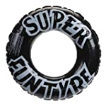 """36""""/91cm Black Tyre Inflatable Rubber..."""