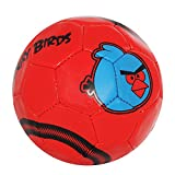 #8: Lionbuzz Red Angry Birds Kids Football - Size 3, Synthetic, 1 Football and 1 Needle