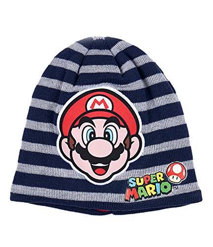 0a9f35b67c9 Super Mario Bros Boys Winter Beanie Knitted Velvet Pom Pom Hat 3-10 Years -  New 2017 18 Collection - Buy Online in UAE.