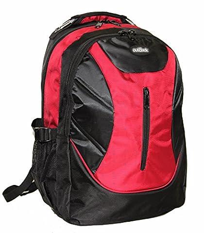 Hohe Qualität 43,2cm oder 48,3cm Laptop Kabine Zugelassen Rucksack Kabine Flight Tasche Reisetasche Rucksack Ryanair Handgepäck 19 Inch Red Einheitsgröße