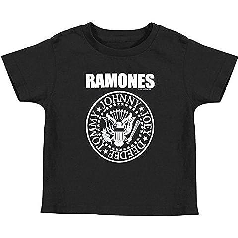 Ramones - Baby-boys Seal Toddler T-shirt - 2T Black
