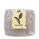 BIO Chia Samen weiß ● Aus Kontrolliert Biologischem Anbau ● Naturbelassen ● Superfood Ohne Zusätze ●1kg Packung ● KoRo