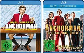 Anchorman - Die Legende von Ron Burgundy + Die Legende kehrt zurück im Set - Deutsche Originalware [2 Blu-rays]