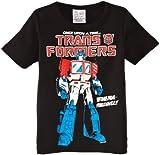 Logoshirt Jungen T-Shirt  Kids Shirt Transformers-Powermaster!!  - Schwarz - Schwarz - 13 Jahre (Herstellergröße: Manufacturer Size:158/164)