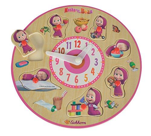 Smoby Masha und Der Bär - Reloj de Aprendizaje (109304084)
