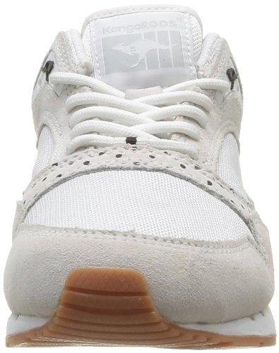 Kangaroos Rage Dots, Baskets mode femme Blanc (000 White)