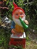 123 Nain De Jardin - Nain De Jardin Super Grill Une Bière À La Main