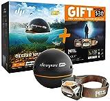Deeper Bundle Sonar Wi-Fi + GPS Fishfinder Pro+, Ecoscandaglio...