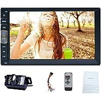 Sistema est¨¦reo del coche de Bluetooth con USB frontal / TF FM Entrada auxiliar de 7 pulgadas de pantalla t¨¢ctil capacitiva Espejo Enlace para los ...