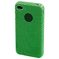 Hama TPU Mobile Phone Window Case for Apple iPhone 4 - Green