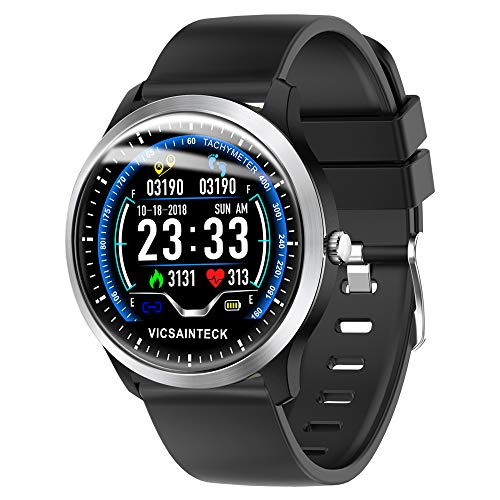 Zoom IMG-1 fitness tracker smartwatch android ios