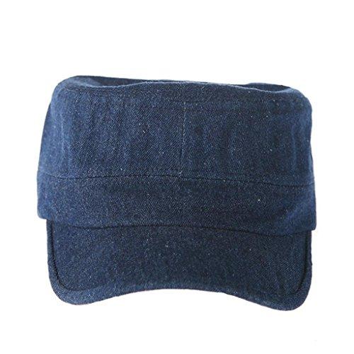 XD-Abgeflachter Cowboy-Hut für Männer und Frauen außerhalb military Cap , jeans (Cowboy Cartoon Hüte)