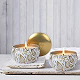 La Jolíe Muse Duftkerze Vanille Kokosnuss 100% Sojawachs Kerze in Dose 185g 45Std Geschenk Für Muttertag - 4