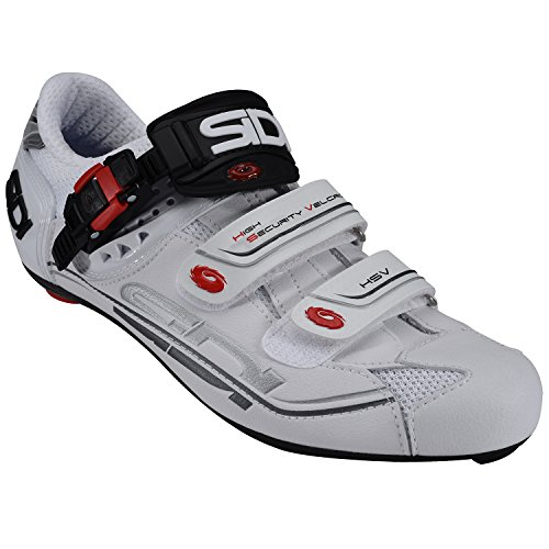 Sidi Genius 7 - Chaussures - blanc 2017 chaussures vtt shimano White/white