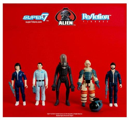 Alien - 3.75inch Action Figure: Reaction Series 1 (5pcs) by Super 7 2