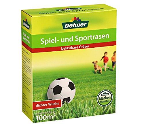 Dehner 3526480 Graines pour Gazon Jeux et Sport 2,5 kg 100 m²