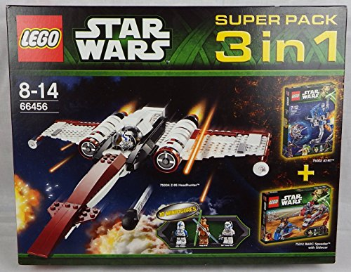 Lego Star Wars 66456 - Super Pack 3 in 1 (75004, 75002, 75012)