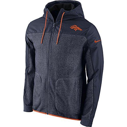 Nike Herren Denver Broncos AV15 Winterized Full Zip Jacke - Mehrfarbig - X-Groß (Broncos Jacke)