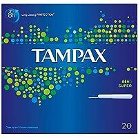 Tampax Applikator Tampons Super (20) - Packung mit 2 preisvergleich bei billige-tabletten.eu