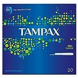 Tampax Tampons applicateur Super (20) (Lot de 2)