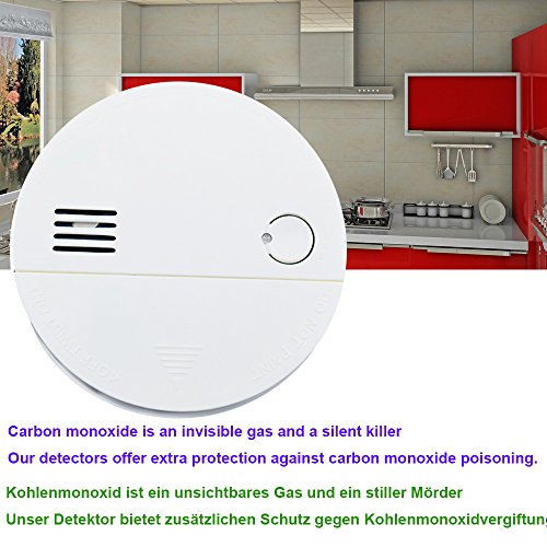 Kohlenmonoxidmelder CO Melder CO Alarm & Rauchmelder Feuermelder Brandmelder mit Elektrochemischem Sensor - 3
