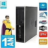 HP PC Compaq Pro 6200 SFF Intel G840 RAM 4 GB 2 TB DVD-Brenner WiFi W7